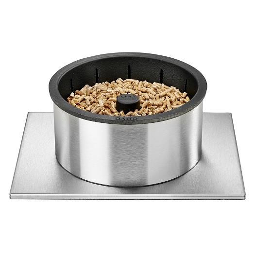 Quemador de pellets para chimenea Qaïto