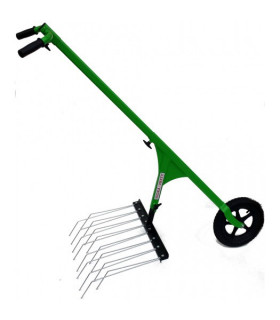 Rake Barbed 80 cm pour Houe à roue manuello Lucko